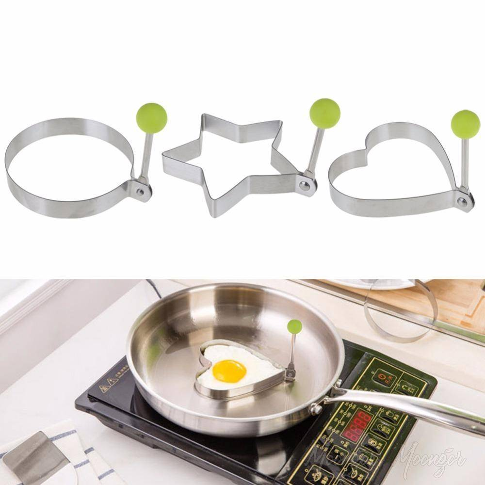 Stainless Steel Shaped Fried Egg Mold (5pcs)