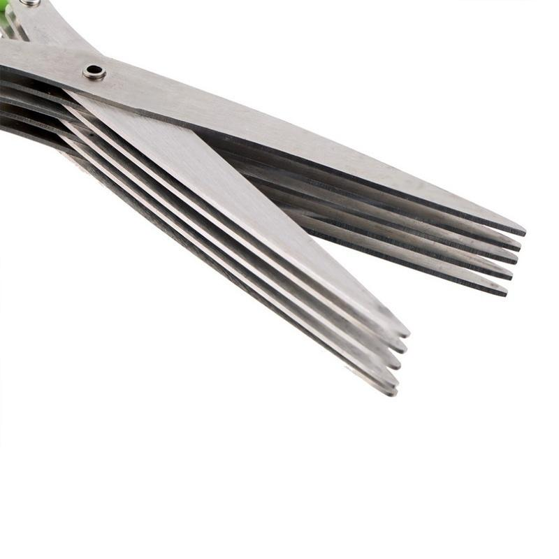5 Layers Stainless Steel Kitchen Scissors
