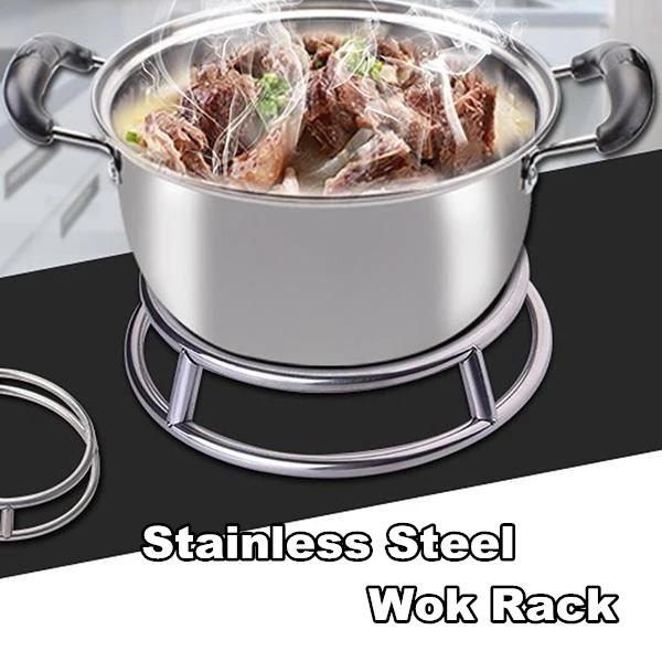 Stainless Steel Wok Rack