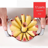 Stainless Steel Fruit Easy Cut Slicer Peeler Divider