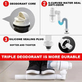 Anti-Odor Expandable Flexible Universal Sink Drain Pipe