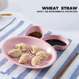 Rabbit Ears Dumplings Drain Tray Dipping Saucer Snack Plate