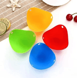 Silicone Egg Poachers - Set For 4