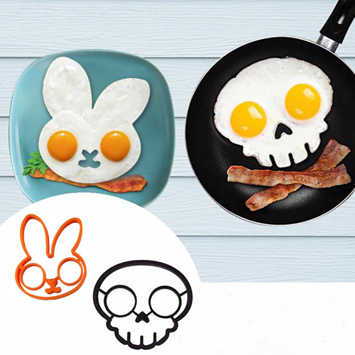 🎃Special Price🎃 Halloween Horror Skull Fried Egg Mold