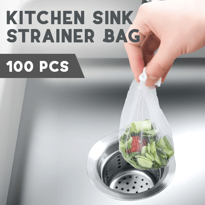 Kitchen Sink Strainer Bag (100 pcs)