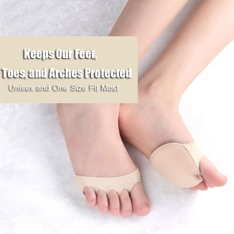 Unisex Forefoot Pads - Foot Pain Relief Cushion High Heel Insert Insoles