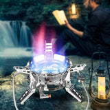 Outdoor Windproof Burner Stove