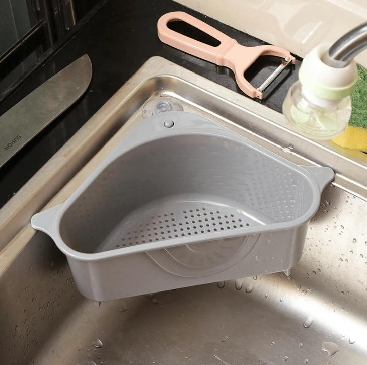 Multifunctional Kitchen Triangle Storage Holder/Basket