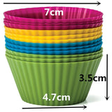 Jumbo Silicone Baking Cups (24-Pack)