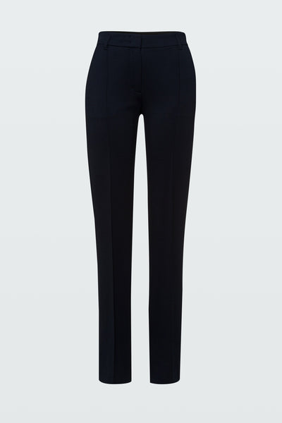Dorothee Schumacher Navy Long Emotional Essence Pants