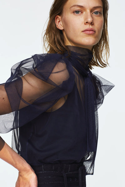 Dorothee Schumacher Dramatic Transparency Top