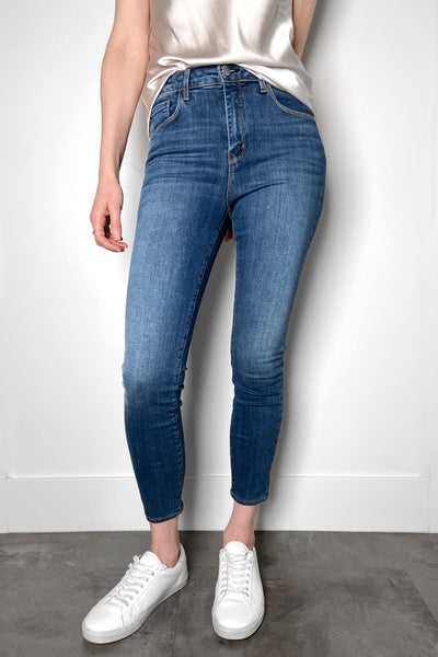 L'Agence Light Vintage Cropped Jeans