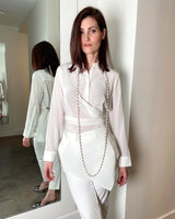 Dorothee Schumacher White Wrap Blouse