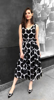 Samantha Sung Polka Dot Dress. (Last One, Size 2/XS)