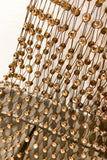 Dorothee Schumacher Bronze Mesh Sparkle Bag. (Last One)