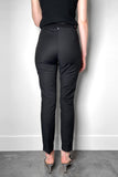 Lorena Antoniazzi Black Techno Stretch Pants