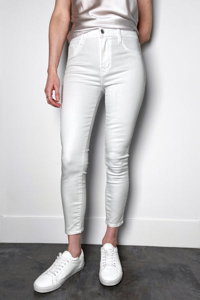"L'Agence ""Blanc"" Margot White Jeans"