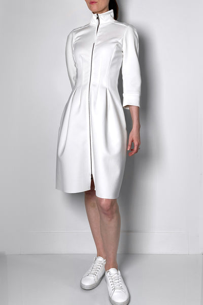 Dorothee Schumacher Cream Scuba Dress