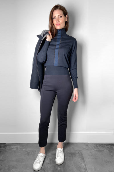 Lorena Antoniazzi Soft Navy Legging
