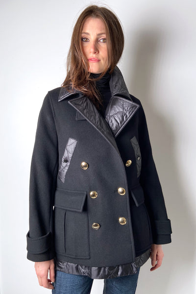 Dorothee Schumacher Quilted Wool Coat