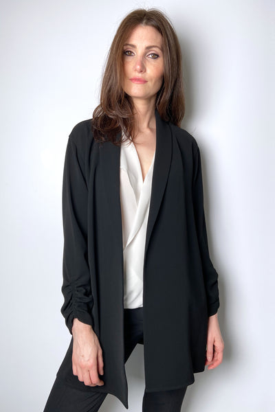 Lafayette 148 Light Black Blazer Jacket