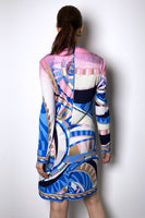 Emilio Pucci Abstract Print Sequin Dress
