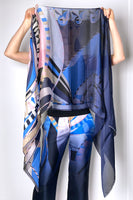 Emilio Pucci Abstract Print Scarf. (Last One)