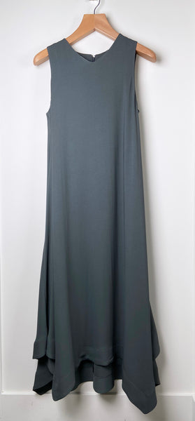 Fabiana Filippi Long Teal Gown