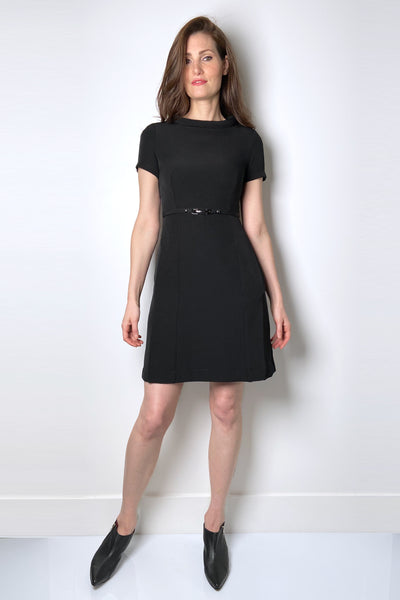 HIGH Black Jackie-O Dress
