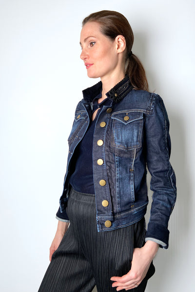 HIGH Jean Jacket with Collar Detail