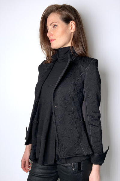 HIGH Black Brocade Jacket