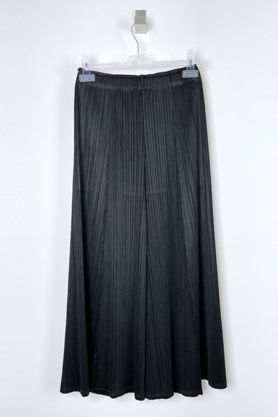 Pleats Please Black Wide Leg Pants