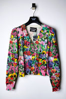 Boutique Moschino Flower Print Cardigan
