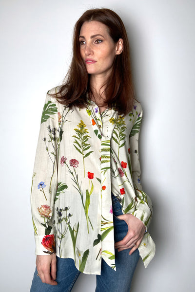 Boutique Moschino Floral Blouse
