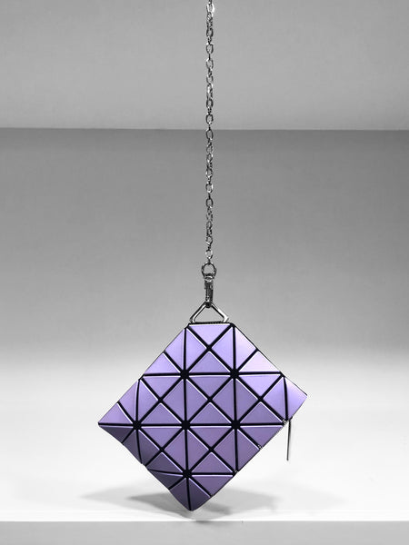 Bao Bao Chain Wallet - Silver and Purple