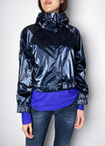 Dorothee Schumacher Shiny Blue Windbreaker. (Last One, Size 4)