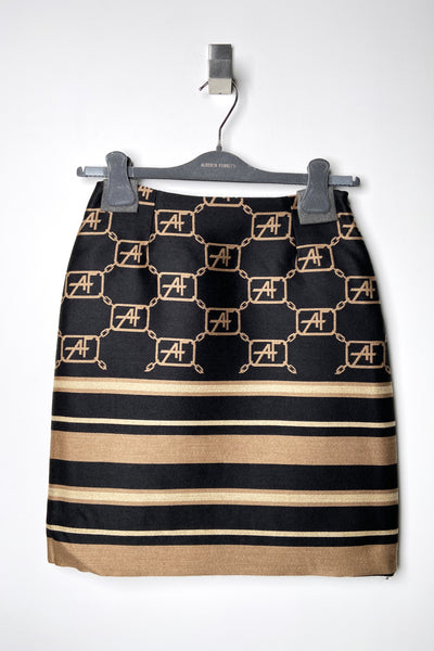 Alberta Ferretti Wool Icon Skirt