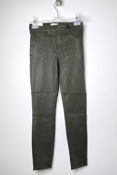 L'Agence Coated Army Jeans