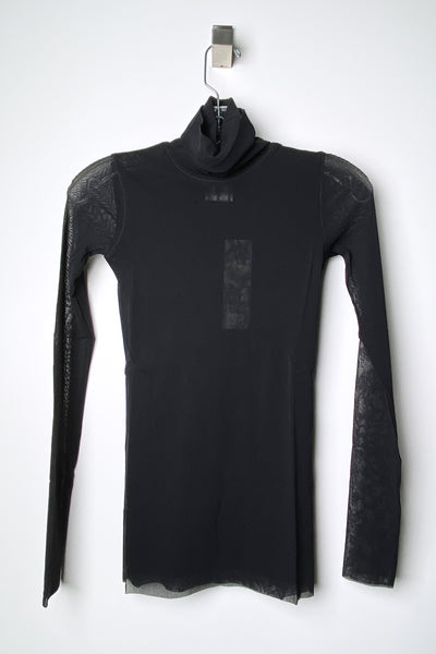 Fuzzi Black Turtleneck