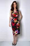 Samantha Sung Chelsea Garden Pencil Dress
