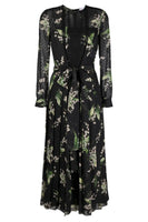 Red Valentino May Lily Point D'Esprit Dress
