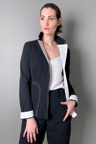 Annette Gortz Colour Block Cotton Blazer