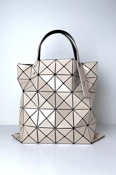 Bao Bao Beige Lucent Tote Bag