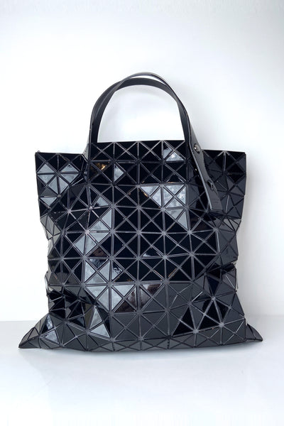 Bao Bao Black Large Prism Tote Bag