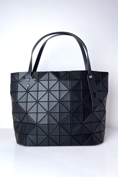 Bao Bao Black Small Rock Matte Handbag