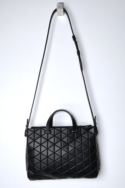 Bao Bao Tonneau Matte Black Purse