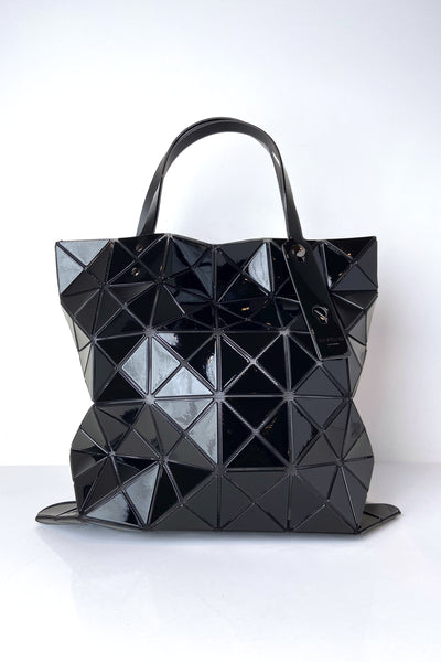 Bao Bao Black Lucent Tote Bag
