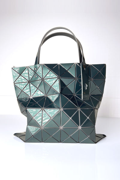Bao Bao Metallic Green Tote Bag