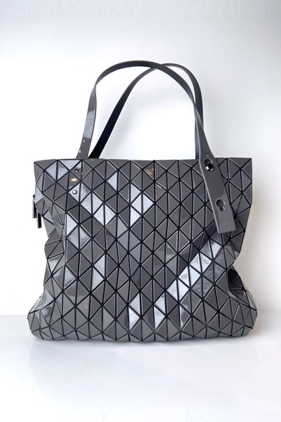 Bao Bao Gunmetal Large Row Gloss Shoulder Bag