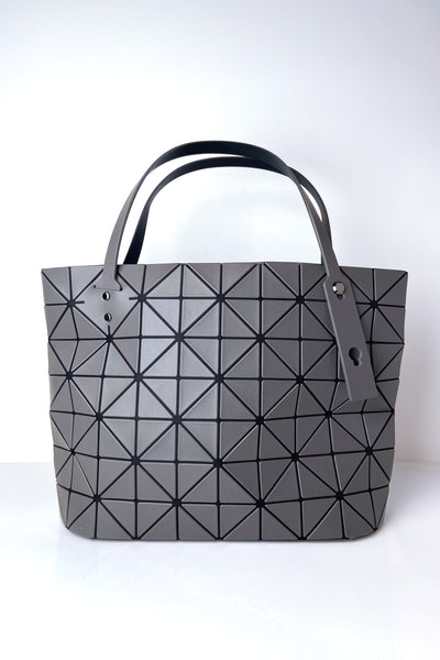 Bao Bao Grey Small Rock Matte Handbag